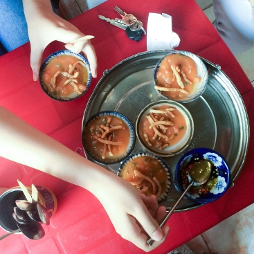 Water Fern Cakes in Hanoi