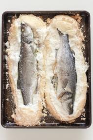 Salt-Crusted Fish